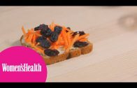 Healthy Snack: Cinnamon Raisin Carrot Toast