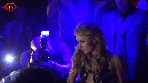 Paris Hilton at Olivia Valere